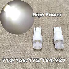 Parking Light T10 SMD LED Wedge 194 2825 168 12961 W5W 175 6000K WHITE W1 JAE