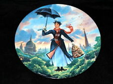 1989 Knowles Walt Disney's Mary Poppins Collectors First Issue Plate #3681 B Coa