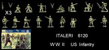 Italeri 6120 WWII US Infantry, 1/72 toy soldiers  MIB