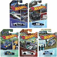 Hot Wheels 2020 HW Police Series Fairlady Z BMW M2 Golf Set of 5 Cars Walmart Ex