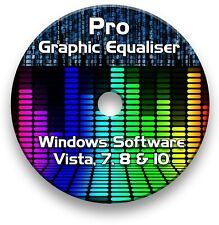 Pro Graphic Equalizer Editing Software-Windows Vista, 7, 8 & 10 auf CD