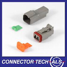 5X Deutsch DT 2-way 2 Pin Electrical Connector Kit #DT2-TRx5