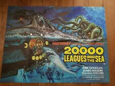 20.000 Leagues under the sea.(original Movie Poster)