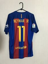 Neymar Jr #11 Barcelona 2016/17 Home Medium Football Shirt Jersey Nike BNWT