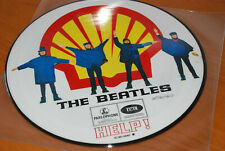 THE BEATLES:HELP.SHELL COVER.1LP.PICTURE DISC.EMI-PARLOPHONE HOLLAND.MINT.