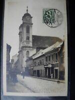 postal postcard AK Wien Vienna Austria Bezirk IX.  Liechtenthaler  Kirche
