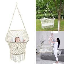 Baby Hammock Hanging Crib Cradle Cot Sleep Bed Swing Seat Outdoor Home Travel