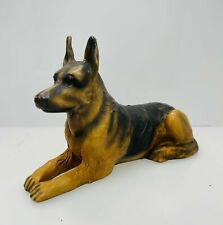 Tannereye Leather Covered German Shepherd Signed