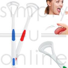 Tongue Scraper ~ Oral Dental Care , Plastic Tongue Cleaner Brush