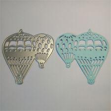 Brief Hot Air Balloon Cutting Dies Stencils for DIY Scrapbooking Photo Craft HK