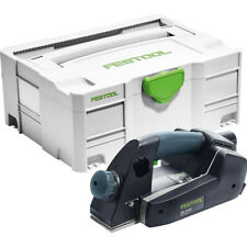Festool EHL65EQ-Plus 240V 65mm One Handed Planer in Systainer T-Loc Case 574560