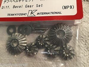 KYOSHO DIFF BEVEL GEARS SET NEW IN PACKET - INFERNO MP9, MP10, IF402