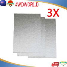 3X Mica Paper Insulation for Rework Station Hot air Gun Heating Element 25X15CM