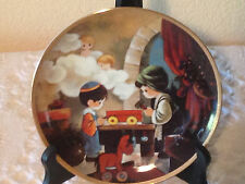 Hc Collector Plates: Precious Moments (The Carpenter Shop)
