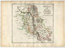 Eilenburg - Duben - Wurzen Kupferkarte Le Rouge 1759