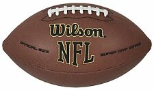 Wilson Nfl Super Grip Official Football , New, Free Shipping