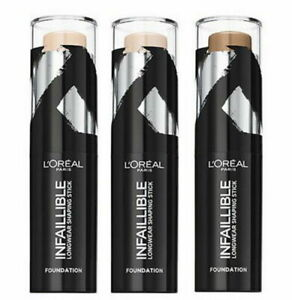 LOREAL Infaillible Longwear Shaping Foundation Stick 9g SEALED - various shades