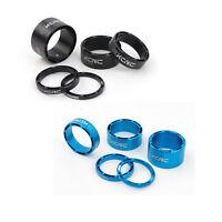 KCNC Hollow Vélo Entretoise de Direction / Spacer 3-5-10-14-20mm - Bleu / Noir