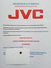 JVC LT-40C540 LSC400HN01 msdv 3223-ZC01-01 Kit de reparación Eprom por favor leer anuncio