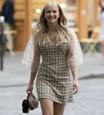 See By Chloe Tattersall Plaid Mini Dress 38 Emily In Paris