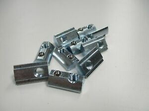 """M8 Roll in T-nuts for 4040 """"I8"""" Series Aluminium Extrusion/Profile"""