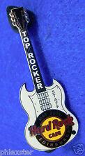EDINBURGH MAY STAFF TOP OF THE ROCK SG GIBSON HENDRIX GUITAR Hard Rock Cafe PIN