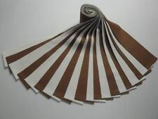 "Jelly Roll-""Earth (Brown) & Snow"" Kona Cotton-20-2-1/2"" x WOF Strips-10 Each"