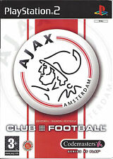AJAX CLUB FOOTBALL for Playstation 2 PS2 - with box & manual - PAL