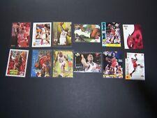 Michael Jordan UD 12 Card LOT