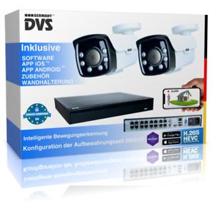 Videoüberwachung Outdoor 4K mit intelligente Menschenerkennung inkl. Alarmfunkti