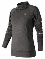 New Balance Female Women's Heat Pullover Quick-Dry Comfort Athletic Fit Grey