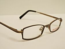 Authentic KIDS CONVERSE Snaps Brown Iron Eyeglasses Frame $149