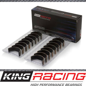 King Racing STD Set of 4 Conrod Bearings suits Honda B18B1 B18B2 (DOHC 16 Valve)
