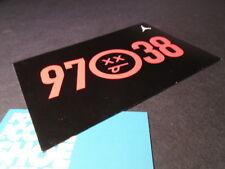 Nike Air Jordan XII 12 RETRO CARD 97-38 BLACK TRUE RED BRED FLU GAME
