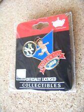 2010 NY New York Yankees Baby New Years lapel pin MLB