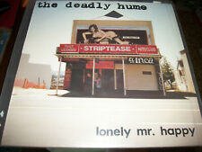 """The Deadly Hume – Lonely Mr. Happy - LP 12"""" 45RPM - 1988 - Phantom Records"""
