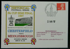 Football Cover FA Cup Semi Final 13 Apr 1997 Chesterfield V Middlesborough