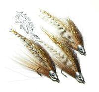 1 Esox Toothpick Baitfish Streamer Flies Bass Musky Pike Trout Fly Fishing Sz