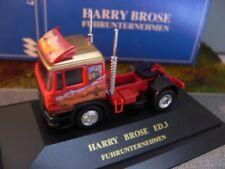 1/87 Herpa MAN F2000 Harry Brose Fuhrunternehmen Zugmaschine in PC Box