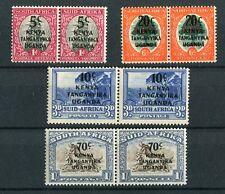 Kenya Uganda Tanganyika KGVI 1941-42 SG151/4 LMM