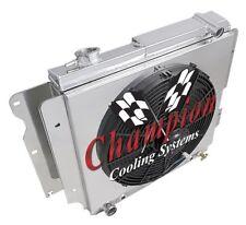 "3 Row Perf Radiator W/ 16"" Fan and Shroud for 1987 - 2006 Jeep Wrangler YJ"