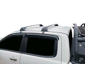 Aerodynamic Roof Rack Cross Bar for Nissan Navara D23 NP300 2015-20 Black