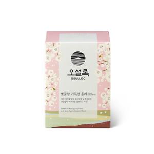 OSULLOC Jeju cherry blossom tea 10 bags, made in Korea. blended tea