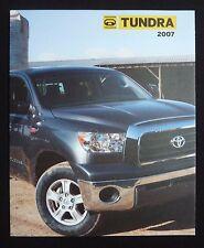 2007 Toyota Tundra Truck Dealer Sales Brochure~SR5 Limited Crewmax~Original