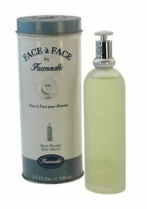 Faconnable Face a Face pour Homme After Shave Splash For Men 3.3oz 100 ML NIB