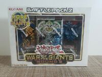 Yugioh War Of The Giants Round 2 Box New Factory Sealed