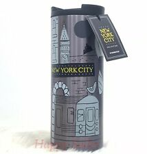NEW 2019 STARBUCKS TUMBLER NYC NEW YORK CITY THERMOS CUP STAINLESS STEEL RARE!