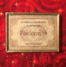 Harry Potter Hogwarts Express Ticket Christmas Ornament Custom Handmade Gift