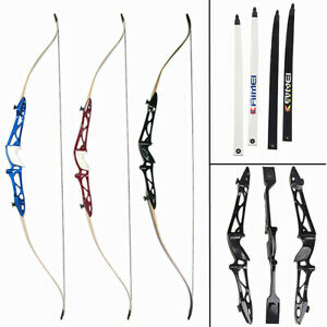 """Red 66/"""" Core Archery Jet Take Down Recurve Bow /& Complete Package"""