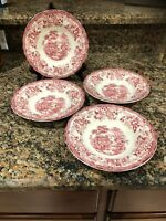 Tongquin Royal Staffordshire Clarice Cliff Salad Bowl Total Of 4 Bowls